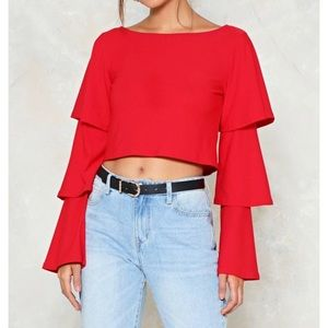 BRAND NEW never worn off the shoulder top